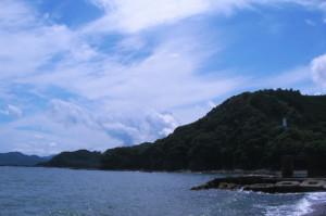 古里海岸(三重県紀北町)